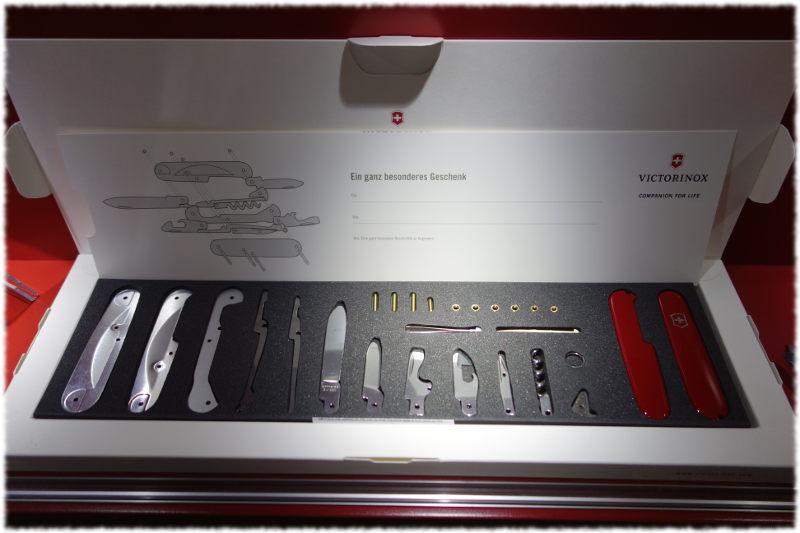 Création couteau Victorinox