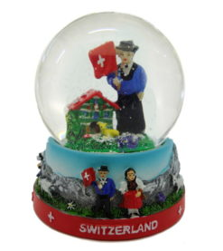 Boule à neige suisse