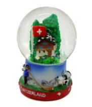 Boule à neige chalet suisse