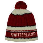 Bonnet suisse pompon