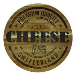 Planche à fromage suisse