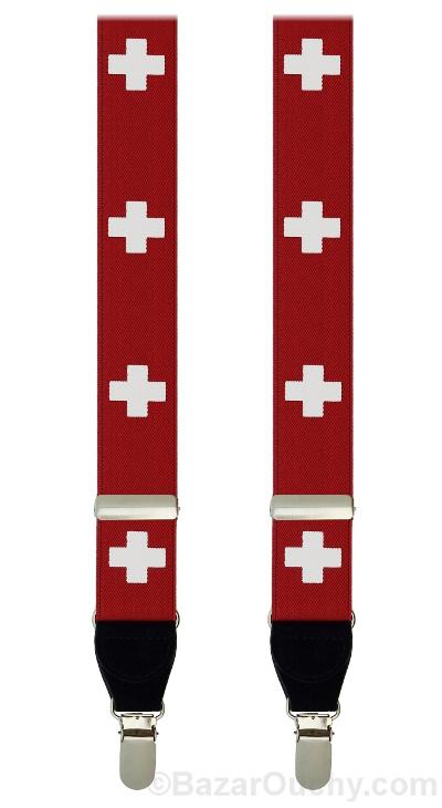 Bretelles croix suisse
