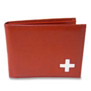 Porte feuille en cuir suisse