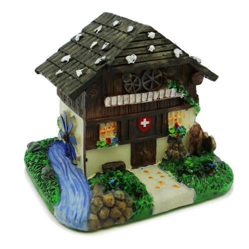 Chalet suisse miniature