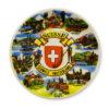 Assiette souvenir suisse