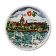 Assiette souvenir Lausanne