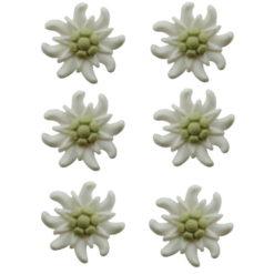 Edelweiss miniature décoration à coudre ou coller
