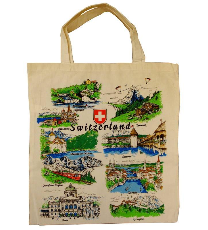 Sac Suisse En Tissu Villes