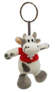 Vache suisse porte clé
