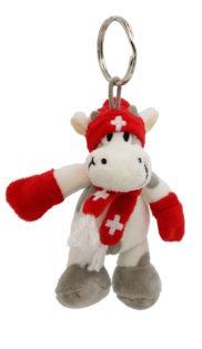 Vache suisse porte-clé