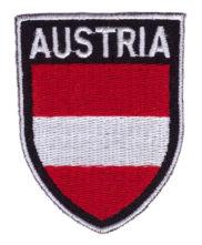 Ecusson brodé Autriche