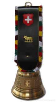 Cloche de vache suisse en bronze