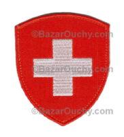 Ecusson suisse brodé fédéral