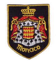 Ecusson brodé Monaco