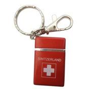 Briquet porte clé croix suisse