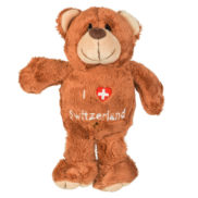 Peluche ours suisse