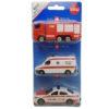 Voiture suisse - set de véhicule de secours
