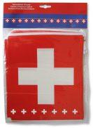 Chaine drapeau suisse décoration