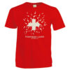 T-shirt suisse spematozoide everybody loves switzerland