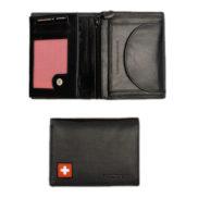 Porte monnaie cuire suisse