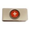 Pince à billet croix suisse