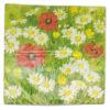 Serviettes en papier fleur suisse