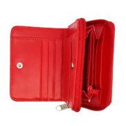 Porte monnaie rouge croix suisse