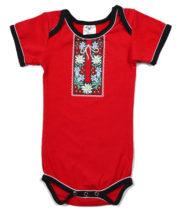 Body suisse bébé folklorique