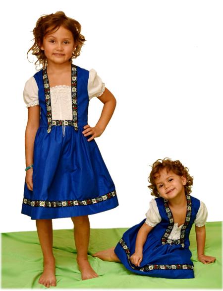 Costume Folklorique robe folklorique suisse - bazarouchy