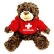 Ourson suisse peluche croix suisse