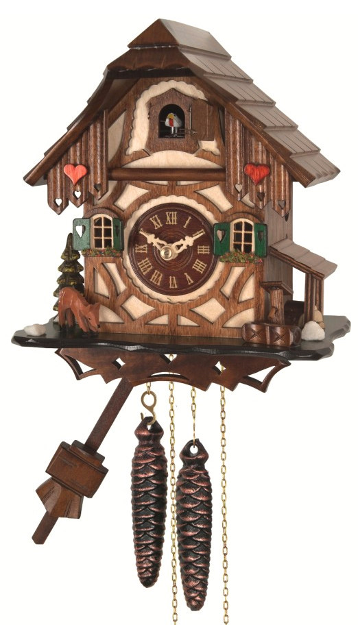 Картинка настенных часов с кукушкой для детей