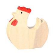 Poule en bois