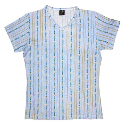 T-shirt edelweiss suisse bleu