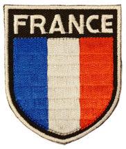 Ecusson à coudre France