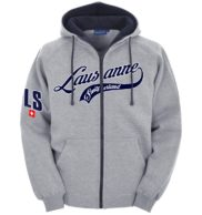 Hoodie Jaquette lausanne