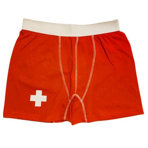 calecon boxer culotte croix suisse