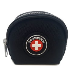 Porte monnaie croix suisse
