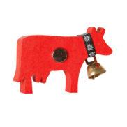 Magnet aimant vache en bois