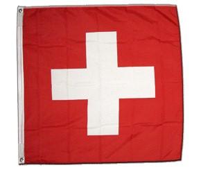 Drapeau suisse tissu