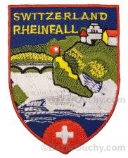Ecusson brodé Rheinfall