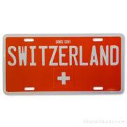 Plaque voiture suisse