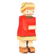 Figurine en bois suisse Heidi