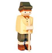 Figurine en bois suisse Peter