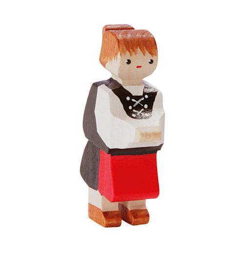 Figurine en bois suisse