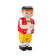 Figurine en bois suisse Appenzell