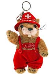 Marmotte chante yodle jodle porte clé