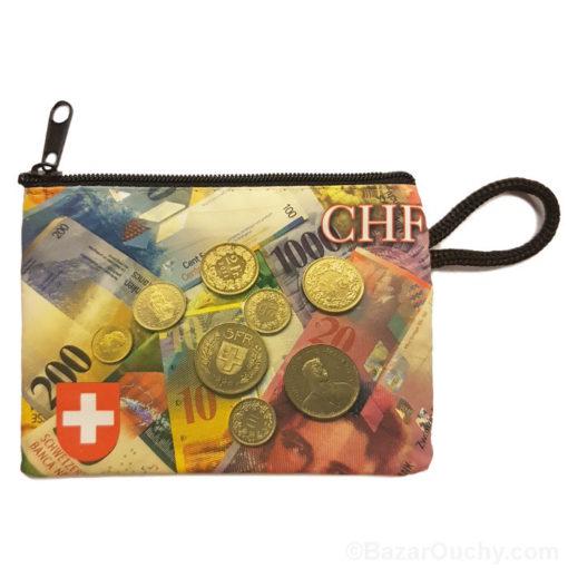 Porte monnaie argent suisse