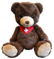 Peluche ours suisse teddy bear