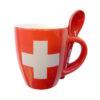 Tasse expresso espresso croix suisse