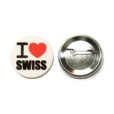 Badge I love Swiss